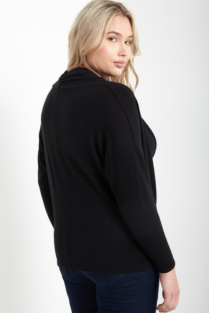 Women's Plus Size Hayley Knit Cowl Sweater