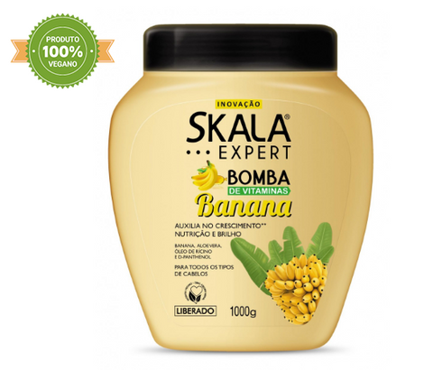 Bomba de Vitaminas de Banana - Skala - Face It Natural Vegan Beauty