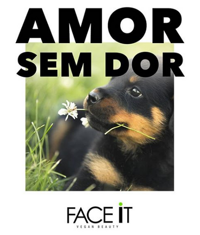 Amor sem Dor - Face It Natural Vegan Beauty