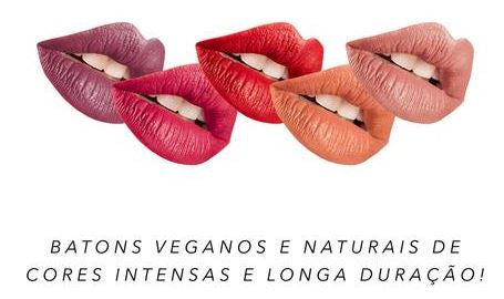 Batom Vegano - Face It Vegan Beauty