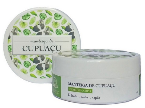 Manteiga de Cupuaçu - Laszlo - Face It Natural Vegan Beauty