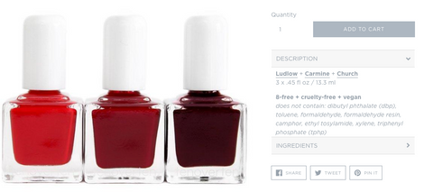 Esmaltes TenOverTen - Face It Vegan Beauty