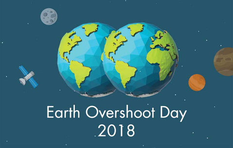 Earth Overshoot Day - Face It Vegan Beauty