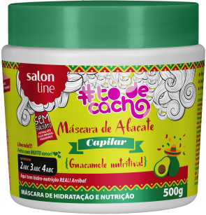 Máscara de Abacate - Salon Line - Face It Natural Vegan Beauty