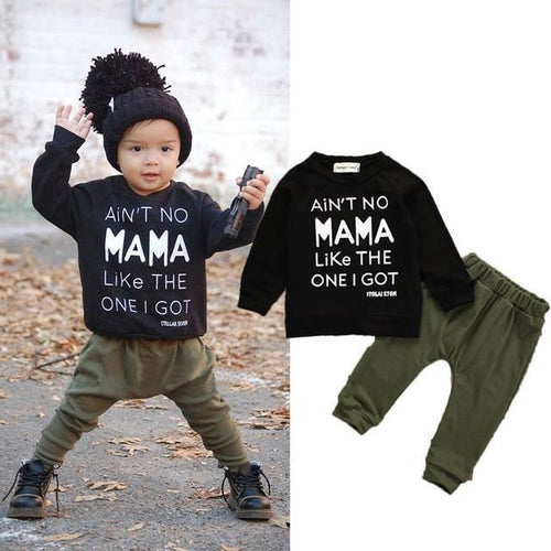 Mama Sweatshirt Set