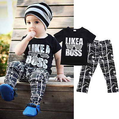 Boss Trouser Set