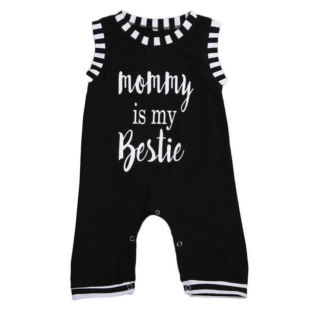 Sleeveless Mommy bestie Romper