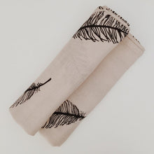 MIILK DREAMCATCHER FEATHER MUSLIN