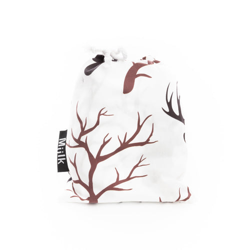 MIILK WILD STAG HEAD MUSLIN
