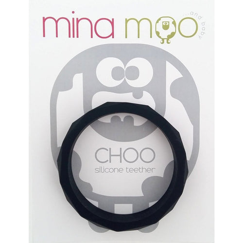 Black geo teether