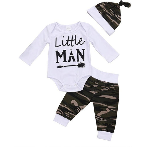 Camo Little Man Set