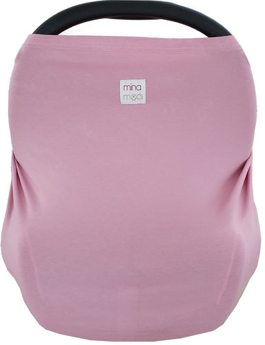 Rose fitted infant car seat cover
