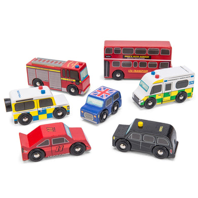 Le Toy Van – London Wooden Car Set