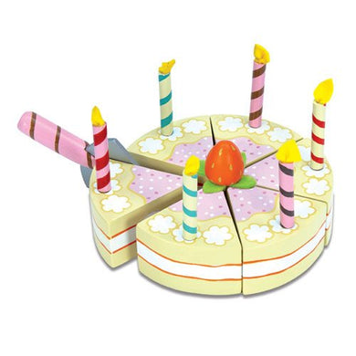 Le Toy Van – Honeybake Wooden Vanilla Birthday Cake