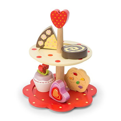 Le Toy Van – Honeybake 2 Tier Cake Stand Set