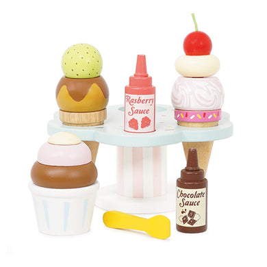 Le Toy Van – Honeybake Wooden Carlo's Ice Creams Stand