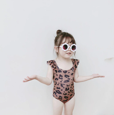 Leopard Print Swimming wear