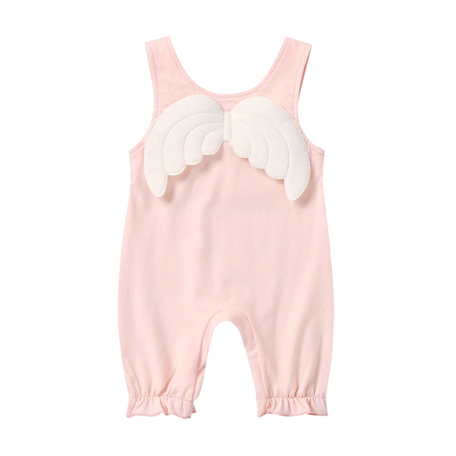 Pink Wing Romper