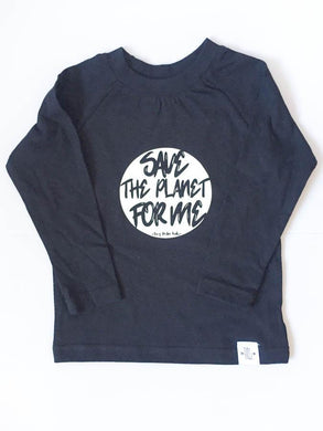 Longsleeved tee - Save the planet
