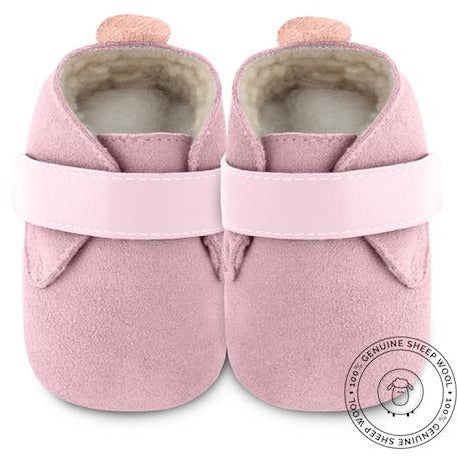 Shooshoos -  PINK POWDER  (Genuine Wool)