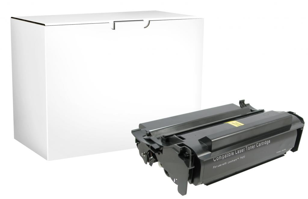 High Yield Toner Cartridge for Lexmark Compliant T420