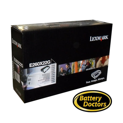 E260X22G LEXMARK E260/E36X/E46X PHOTOCONDUCTOR KIT, 30K