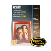 "S041407 EPSON ULTRA PREMIUM PHOTO PAPER LUSTER (13""X19"") (50"