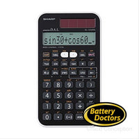 EL510RTB SHARP 160 FUNCTION, 10+1 DISPLAY SCIENTIFIC CALC