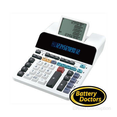 ELDP9001 SHARP 12 DIGIT, 5 LINE DISPLAY, PRINTING CALCULATOR