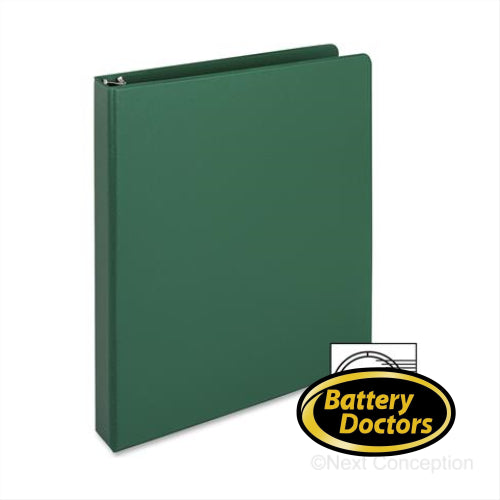 "BUSINESS SOURCE RING BINDER, 1"" CAPACITY, LETTER, 8 1/2"" X 1"