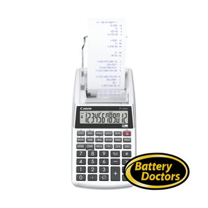 2203C002 Canon P1-DHV-3 Silver In-Hand Printing Calculator