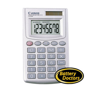 5932A007 Canon LS-270H Silver 8-digit Display