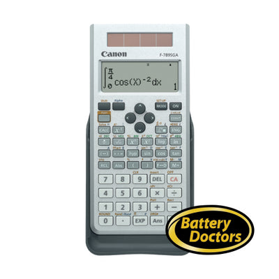 6467B011 Canon F-789SGA Scient Calculator 605 Adv Fcts 18-D