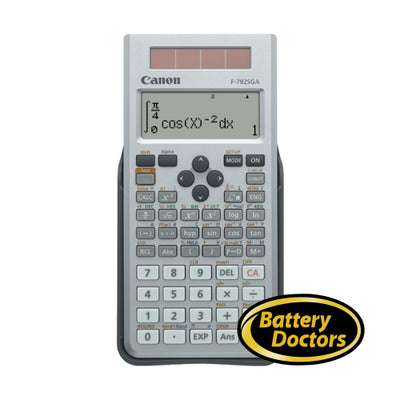 6608B002 Canon F-792SGA Scient Calculator 648 Fcts 18-digit