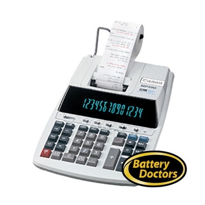 8708B001 Canon MP-49D II Silver Printing Calculator 14-digit