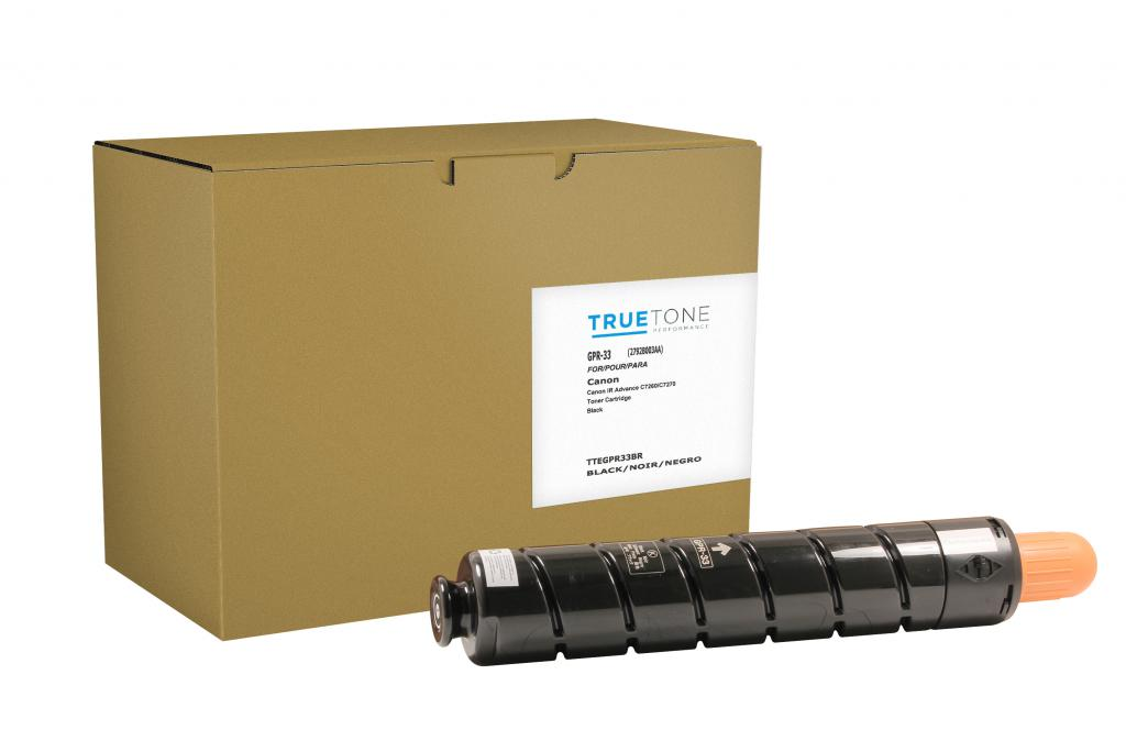 Black Toner Cartridge for Canon 2792B003AA (GPR-33)