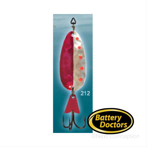 EGB3212 GOLD BACKING SPOON 3/8 OZ Fishing Lure EGB Spoon