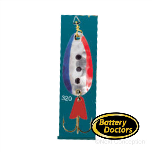 EGB3320 GOLD BACKING SPOON 3/8 OZ Fishing Lure EGB Spoon
