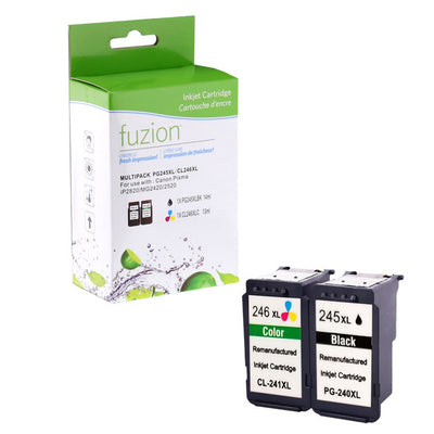 Lakehead Inkjet & Toner - Canon PG-245XL/CL-246XL Remanufactured Combo Pack