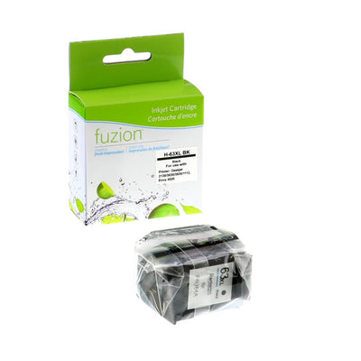HP 63XL (F6U64AN) Black Remanufactured Inkjet Cartridge
