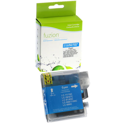 Brother LC61 Cyan Compatible Inkjet Cartridge