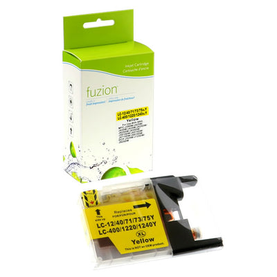 Brother LC75 Yellow Compatible Inkjet Cartridge