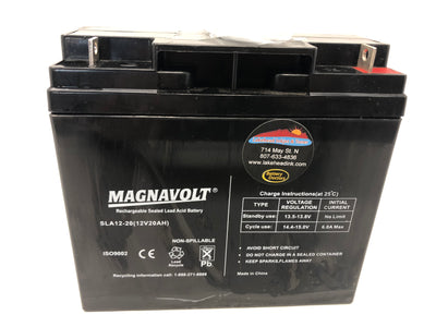 Magnavolt 12V/20AH Sealed Lead Acid  Battery