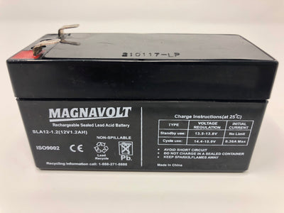Magnavolt 12V/1.2AH Sealed Lead Acid  Battery