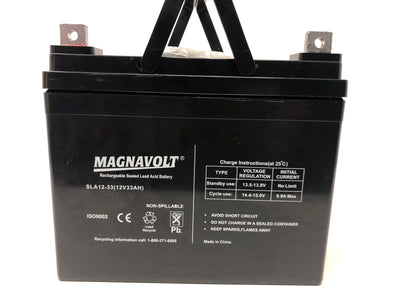 Magnavolt 12V/33AH Sealed Lead Acid Battery