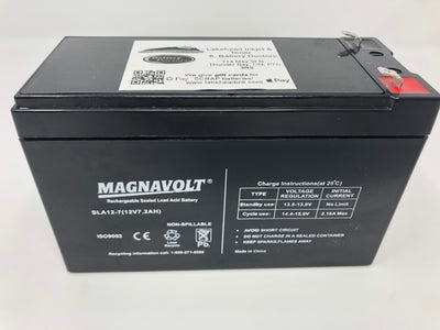 Magnavolt 12V/7AH Sealed Lead Acid  Battery