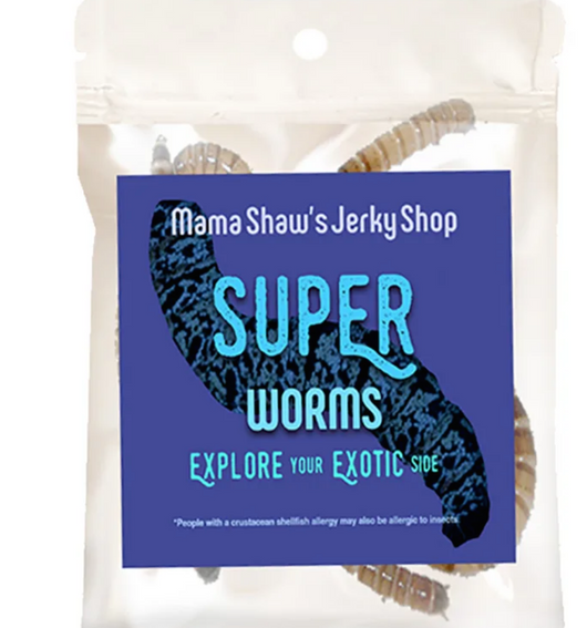 Dried Super worms