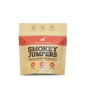 Smokey Jumpers - Whole Roasted Crickets