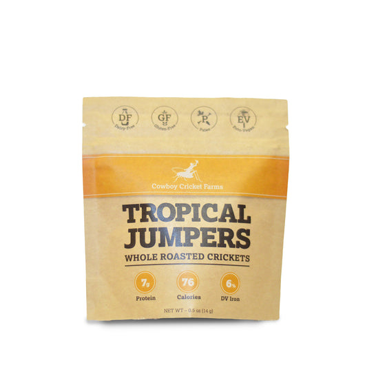Tropical Jumpers - Whole Roasted Crickets