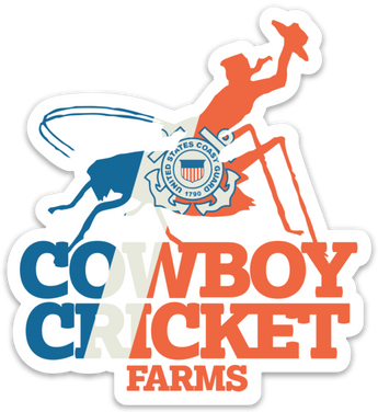 USCG Cowboy Cricket Sticker